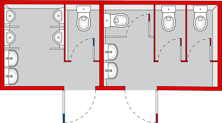 Niewiarygodnie Kontenery sanitarne | Kontenery biurowe | Kontenery budowlane AG47