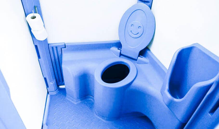 Nowoczesna architektura Toaleta przenośna TOI Kids na place zabaw • Wyceń online ID54