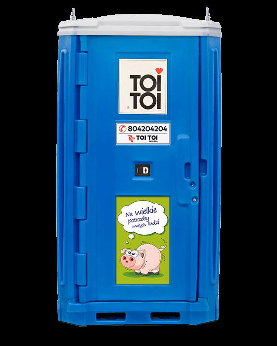 Ogromny Toaleta przenośna TOI Kids na place zabaw • Wyceń online MU26