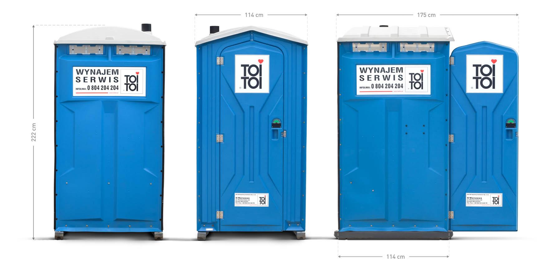 Chwalebne Toaleta przenosna Toi Basic na ogród, działkę • Wyceń online YQ21